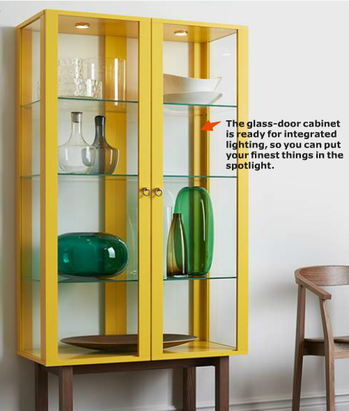 Favorites from the ikea 2014 catalog southern shenanigans stockholmcabinet what a stunner the stockholm glass door cabinet planetlyrics Choice Image